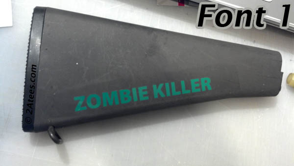 Zombie Killer Sticker 1