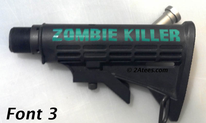 Zombie Killer Sticker